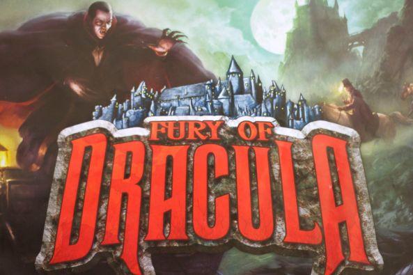 brädspel Fury of Dracula
