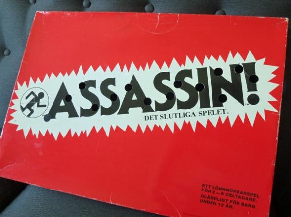 Assassin! brädspel