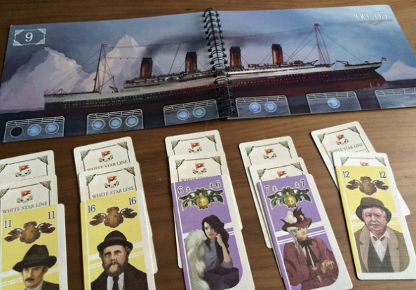 SOS Titanic brädspel spelglädje