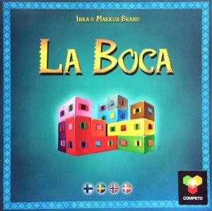 La Boca brädspel Spelglädje