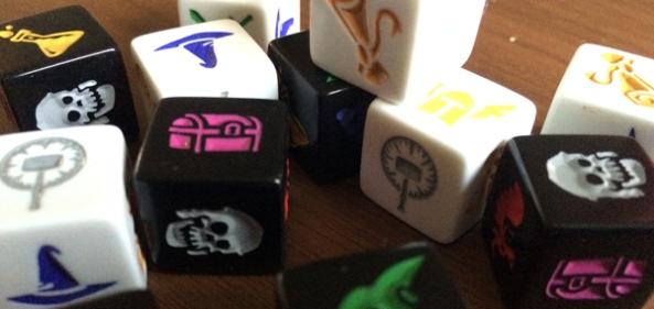 dungeon roll spelglädje brädspel