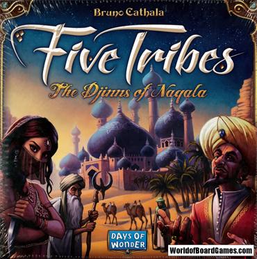 five tribes brädspel spelglädje