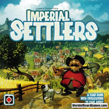 imperial settlers brädspel spelglädje