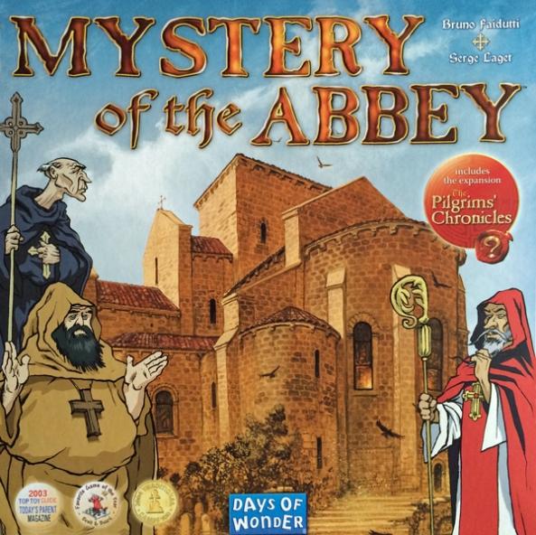 Mystery of the Abbey brädspel spelglädje