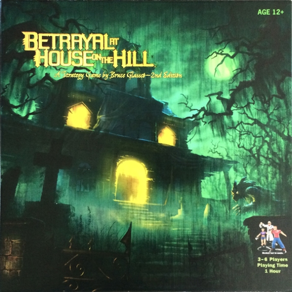 spelglädje brädspel betrayal at house on the hill