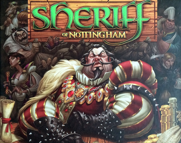 sheriff of nottingham spelglädje bräspel