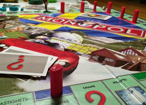 monopol spelglädje brädspel