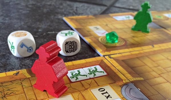 escape - the curse of the temple brädspel spelglädje