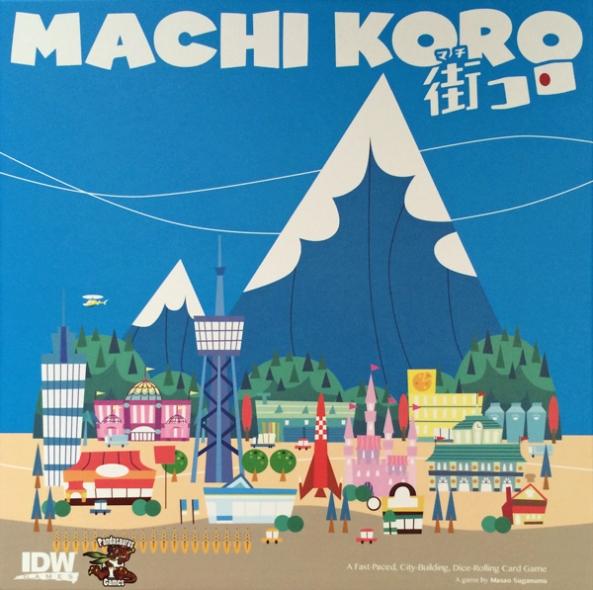 Machi Koro brädspel spelglädje