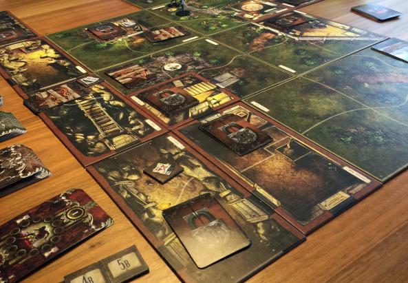 spelglädje brädspel mansions of madness