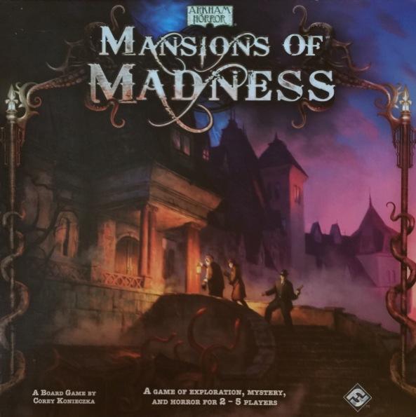 brädspel spelglädje mansions of madness