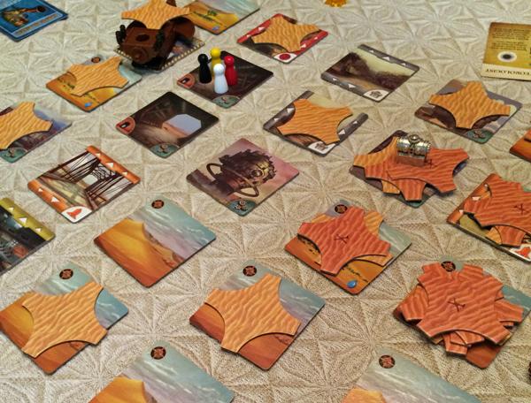 spelglädje forbidden desert brädspel