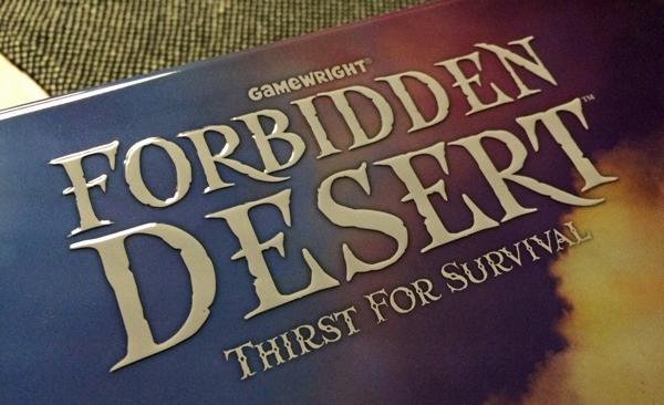 forbidden desert spelglädje brädspel