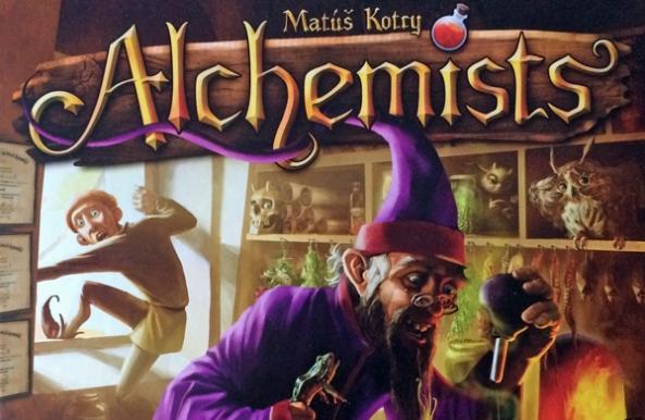 alchemists brädspel spelglädje