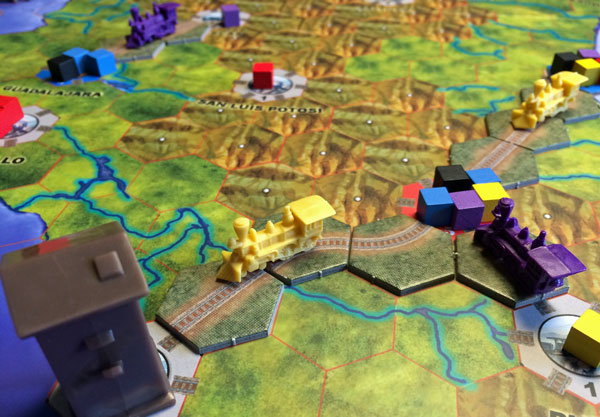 railways of the world brädspel spelglädje