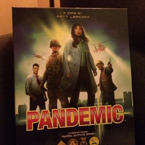 pandemic brädspel spelglädje
