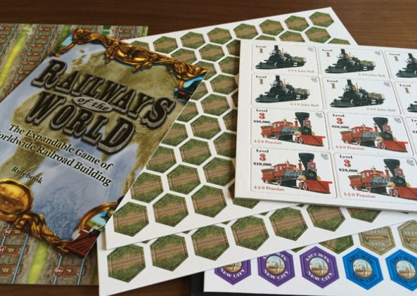 railways of the world brädspel spelglädje