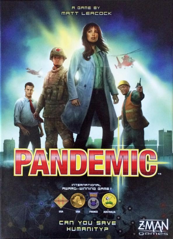 pandemic spelglädje brädspel
