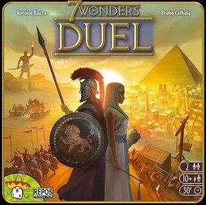 brädspel spelglädje 7 wonders duel