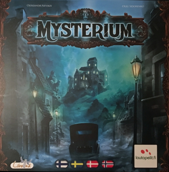 mysterium spelglädje brädspel