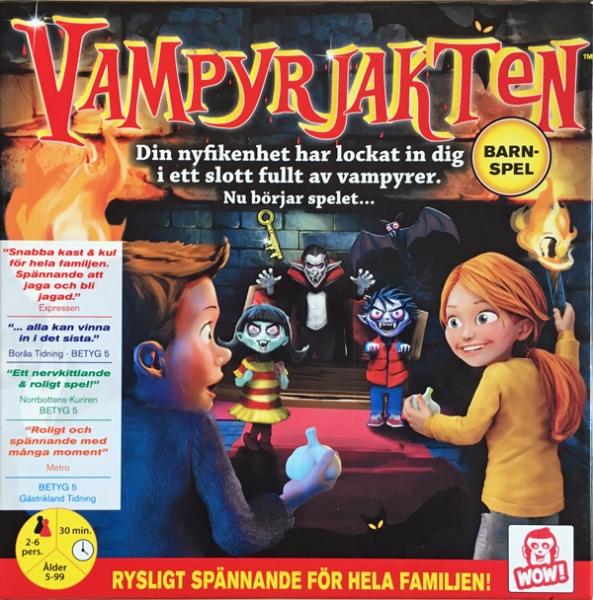Vampyrjakten spelglädje brädspel sällskapsspel