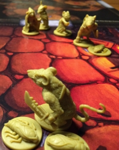 Mice & Mystics brädspel spelglädje sällskapsspel