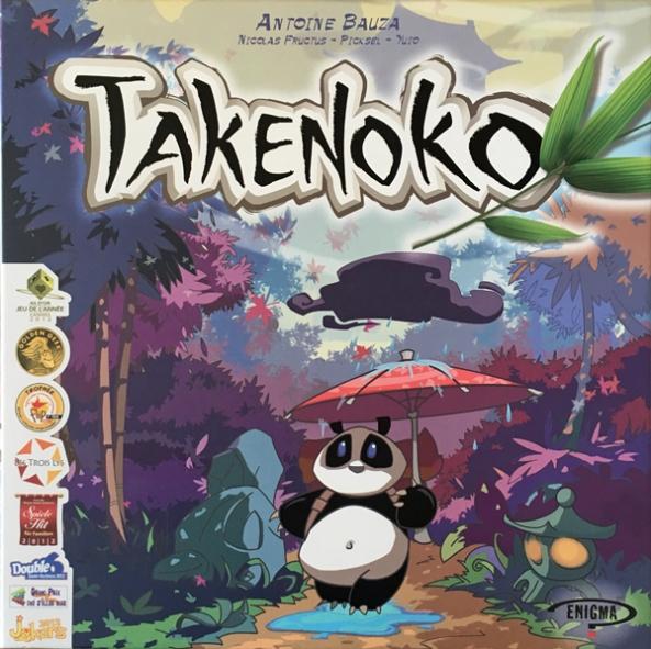 Takenoko brädspel sällskapsspel spelglädje