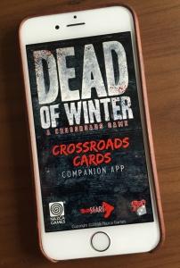 dead of winter spelglädje brädspel sällskapsspel
