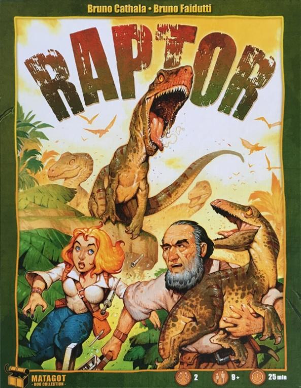 raptor brädspel spelglädje sällskapsspel