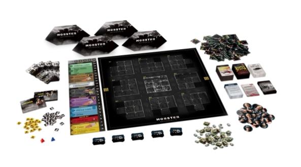 brädspel spelglädje sällskapsspel mobster metropolis