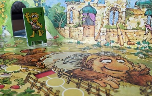 spelglädje brädspel sällskapsspel Spela med fragglarna