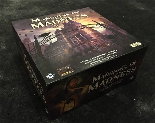 mansions of madness brädspel spelglädje sällskapsspel