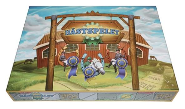 hästspelet brädspel sällskapsspel spelglädje