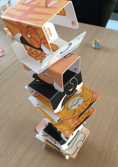 spelglädje brädspel sällskapsspel cat tower