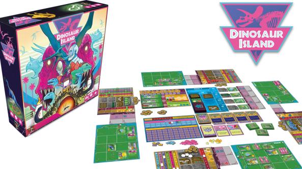 brädspel spelglädje Kickstarter sällskapsspel Dinosaur Island