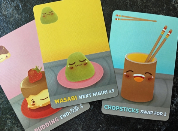 Sushi go brädspel sällskapsspel spelglädje
