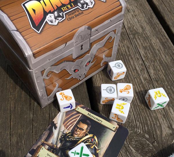 spelglädje brädspel sällskapsspel dungeon roll