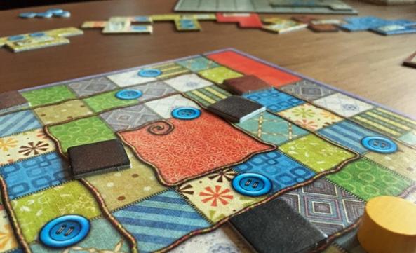 patchwork brädspel spelglädje sällskapsspel