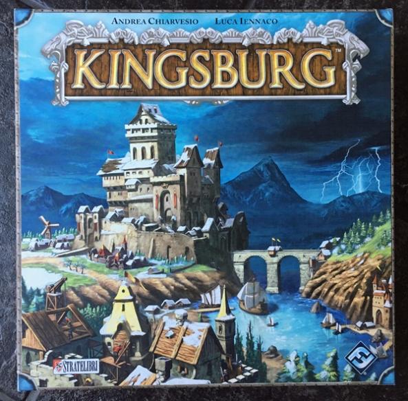 kingsburg spelglädje brädspel sällskapspel