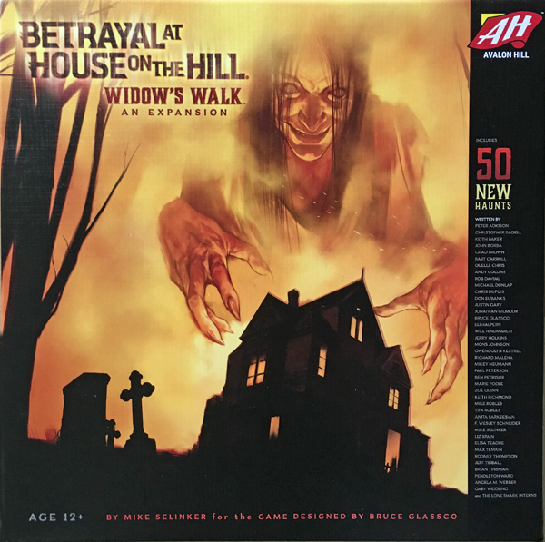 spelglädje brädspel sällskapsspel betrayal at house on the hill widows walk