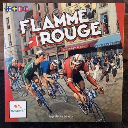 brädspel spelglädje sällskapsspel Flamme Rouge