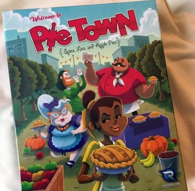 pie town spelglädje brädspel sällskapsspel