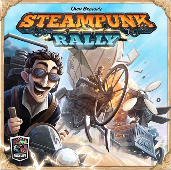 steampunk rally brädspel sällskapsspel spelglädje