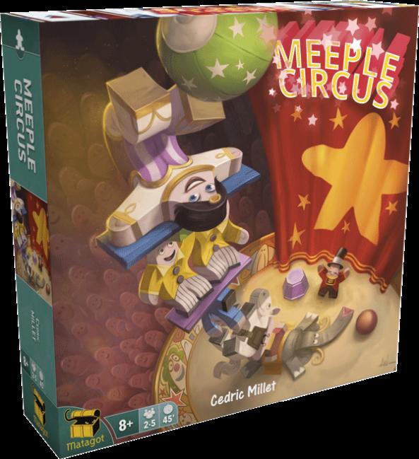 meeple circus brädspel spelglädje sällskapsspel