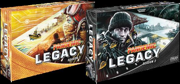 spelglädje brädspel sällskapsspel pandemic legacy season 2