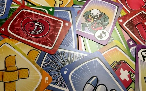 virus! brädspel sällskapsspel spelglädje