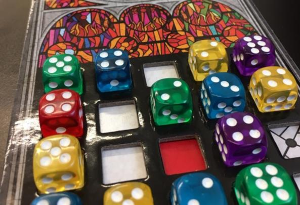 spelglädje brädspel sällskapsspel Sagrada
